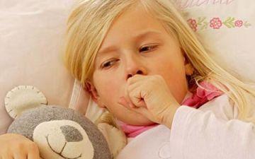 Сильный кашель у ребенка — что делать
