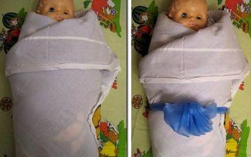 Как пеленать новорожденного ребенка: алгоритм действий