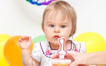 Как отметить ребенку первый день рождения дома