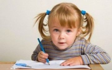 Как научить ребёнка писать