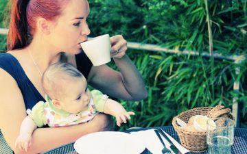 Можно ли пить кофе кормящим мамам