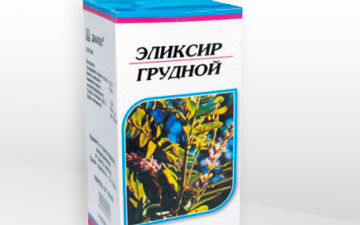 Эликсир грудной от кашля: правила применения