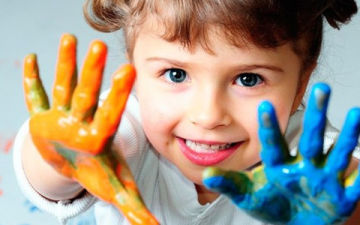Как выучить с ребенком цвета