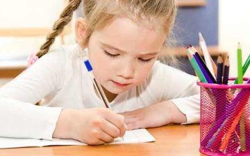 Как научить ребенка писать правильно и красиво
