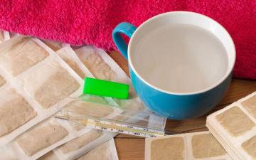 Горчичники при кашле — лечим ребенка