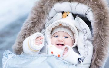 Одеваем малыша на прогулку зимой