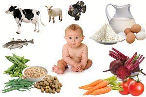 ребенок и продукты