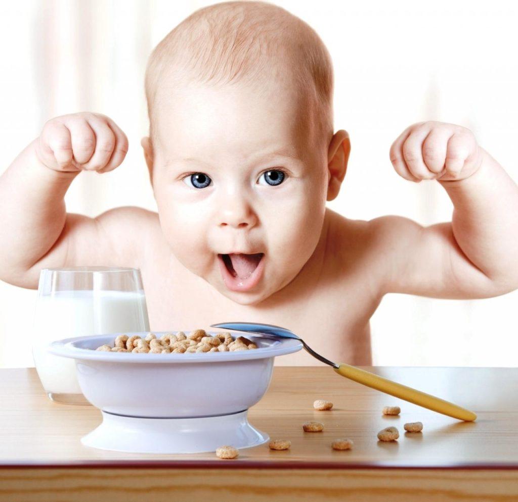 Здоровое питание малыша