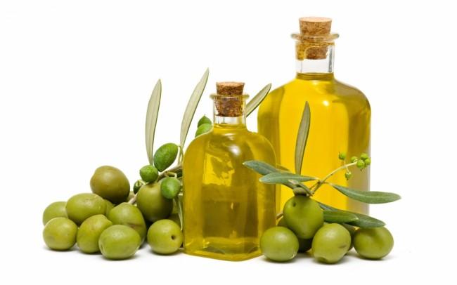 Оливки и лоивковое масло