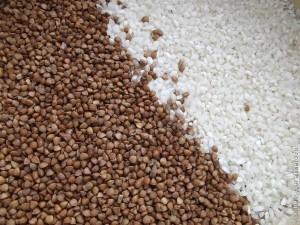 гречневая крупа и рис