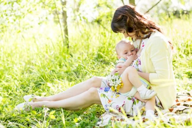 На свежем воздухе с малышом