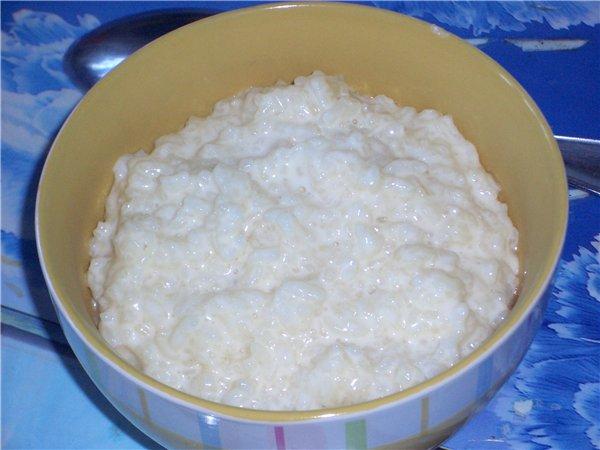 Рисовая кашка