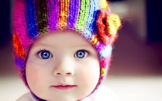 Голубоглазый малыш