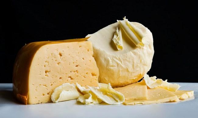 Масло и сыр