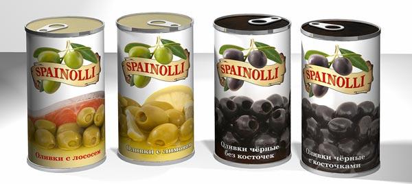 Оливки и маслины в банках
