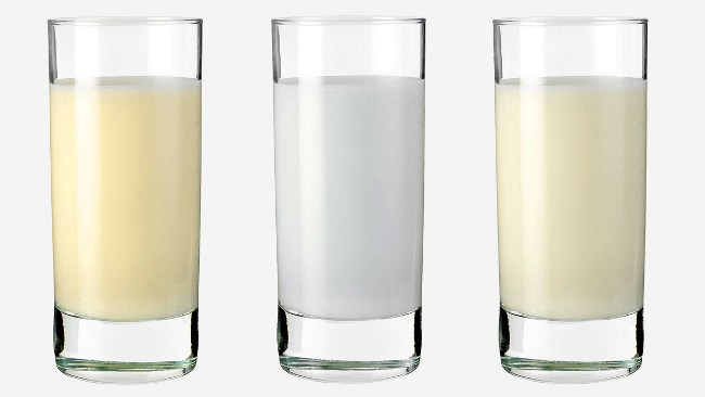 Цвета грудного молока