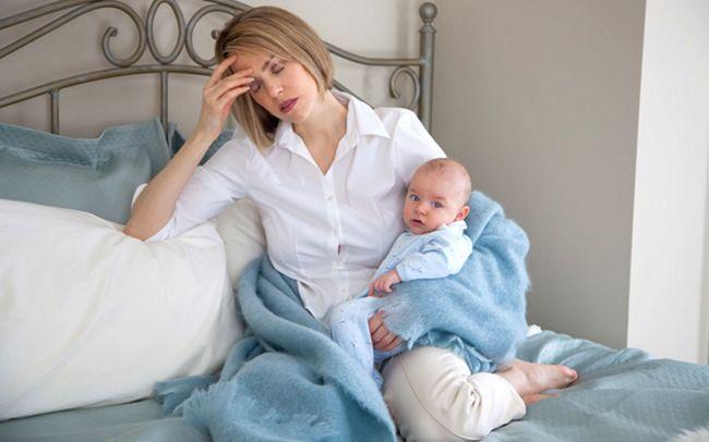 Заболела кормящая мама