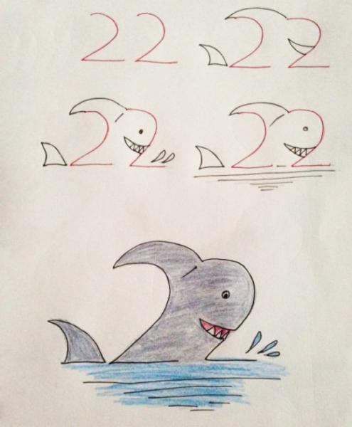 Акула как 22