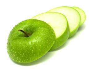 свежие яблочки