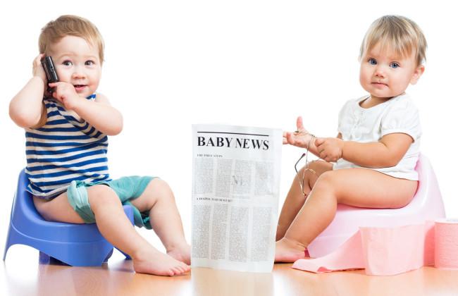 дети учатся сидеть