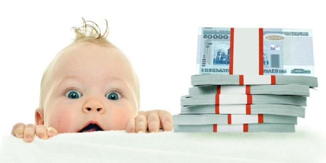малыш и деньги