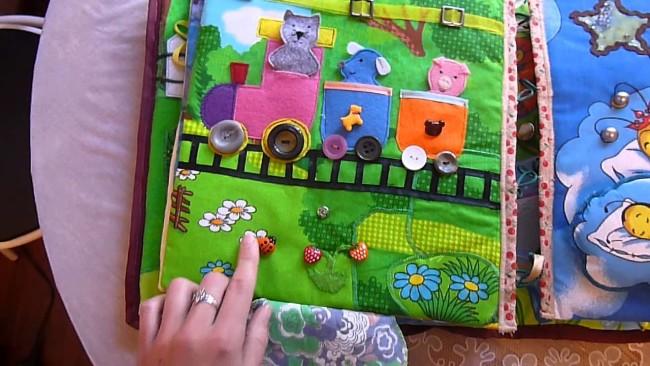 Мягкая книжка для детей