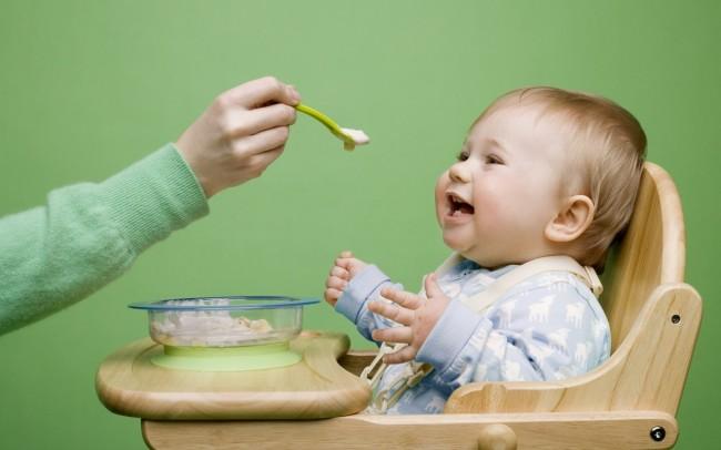 Прикорм ребенку