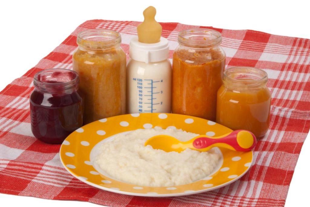 Продукты питания малыша