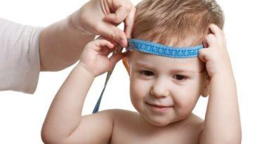 Размер окружности головы у новорожденного