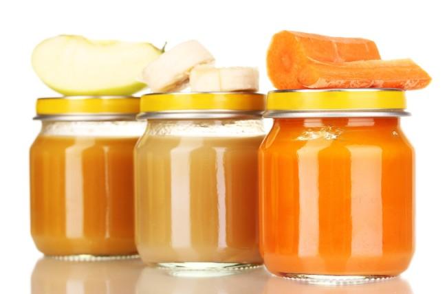 Овощные и фруктовые пюре